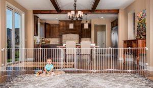 best baby gate with door