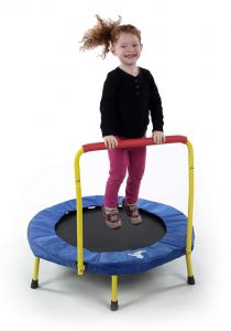 indoor mini trampoline child