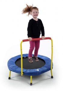 indoor mini trampoline child