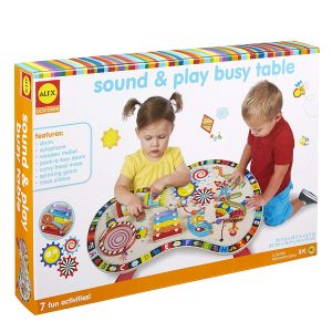 baby standing table